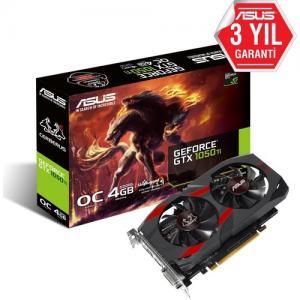Asus NVIDIA GeForce GTX 1050 Ti OC CERBERUS-GTX1050TI-O4G 4 GB 128 Bit
