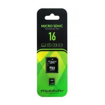 POWERWAY 16 GB MICRO SDHC HAFIZA KARTI