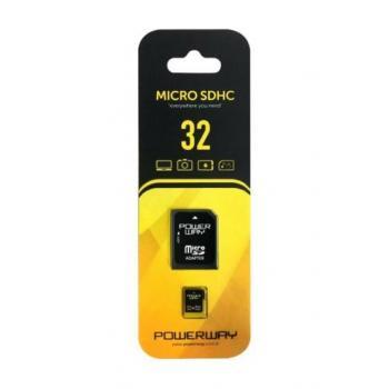 POWERWAY 32 GB MICRO SDHC HAFIZA KARTI