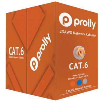 Prolly PCD 5394T CAT6 Kablo 305 MT 23 AWG TURUNCU KABLO