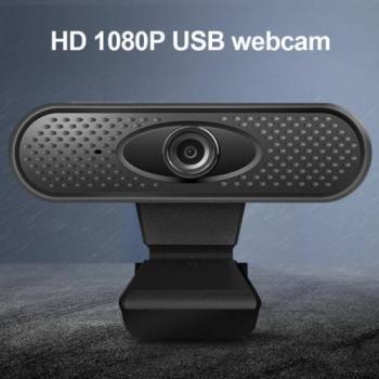 HK-313 1080P MİKROFONLU TAK ÇALIŞTIR WEBCAM KAMERA