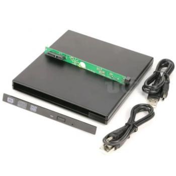 Alfais 5115 Usb Sata 12.7Mm Dvd Rw Writer Ssd External Harici Caddy Kutu