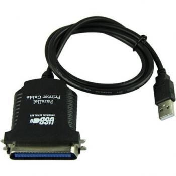 Alfais 4561 Usb Lpt Paralel Yazıcı Çevirici Dönüştürücü Adaptör Kablosu