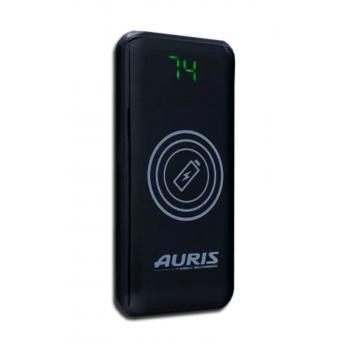 Auris Wireless Powerbank Kablosuz Batarya 2 Usb Çıkışlı 12000 mAh