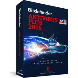 BİTDEFENDER ANTIVIRUS PLUS 2016 1 PC 1 YIL