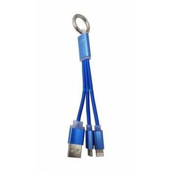CP-802 ANAHTALIK USB MICRO IPHONE ŞAJR DATA KABLO