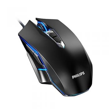 PHILIPS G505 Wired USB Laser Professional Gaming Mouse Led Breathing Light
