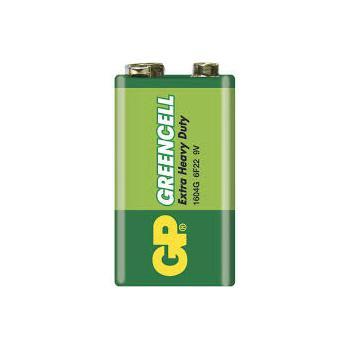 GP 6F22 Greencell 9V Pil