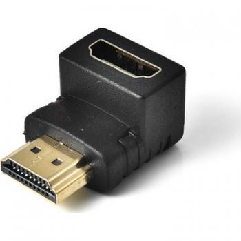 HDMI 90 Dönüştürücü Dirsek HDMI Erkek – HDMI Dişi