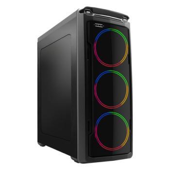 Hiper Harmony 3 Adet Dahili Rainbow Led Fanlı Gaming Kasa