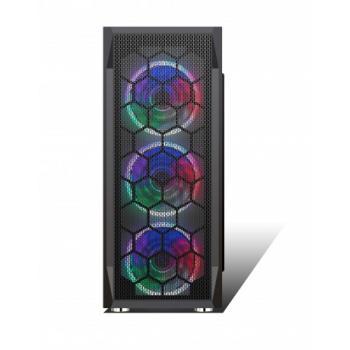 Hiper Zoe 3x12CM Rainbow 1x8CM Arka Fan Gaming ATX Mid Kasa