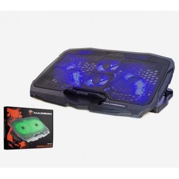 Hadron HD2008 4 Fanlı Işıklı Standlı Laptop Notebook Soğutucu