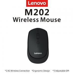 LENOVO M202 USB KABLOSUZ MOUSE GRİ
