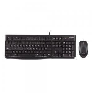 Logitech MK120 Kablolu Klavye Mouse Set
