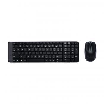 Logitech MK220 Kablosuz Klavye & Mouse Seti-Siyah