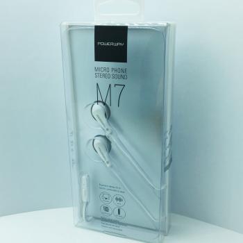 ExtraBass Mikrofonlu Kulakiçi Kulaklık silikonlu Powerway M7