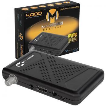 Magbox Natural 33587 Full HD-USB Mini Uydu Alıcısı