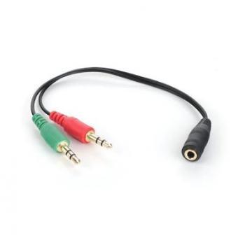 Kulaklık Ses Mikrofon Ayırıcı Dönüştürücü  3703