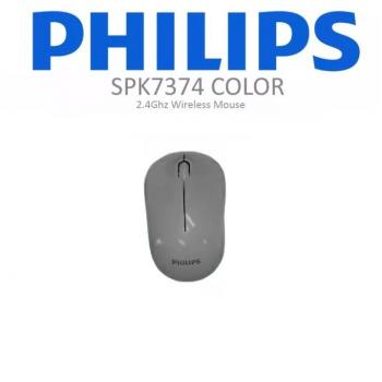 PHİLİPS SPK7374  2.4GHZ  800/1200/1600DPI KABLOSUZ MOUSE GRİ
