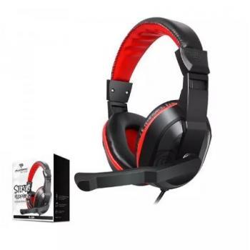 Platoon PL-2351 Kulak Üstü Mikrofonlu Kablolu Oyuncu Kulaklık Siyah