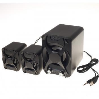 Platoon PL-4243  USB 2+1 Hoparlör