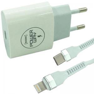 POWERWAY RX-560 TYPE C + IPHONE 3 AMPER HIZLI ŞARJ ALETİ