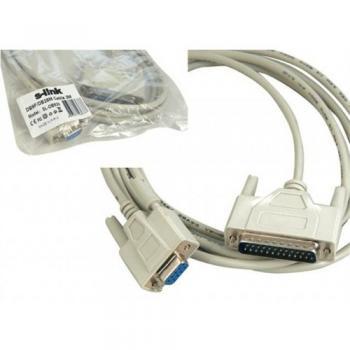 S-Link Sl-Db925 S-Lınk Db9f To Db25m 9C+A 28Awg 2M Rs232 Kablosu