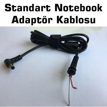 STANDART 5.5x2.5 NOTEBOOK ADAPTÖR KABLOSU