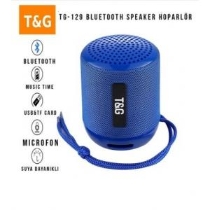 Tg-129 Kablosuz Mini Bluetooth Hoparlör Speaker Usb Sd