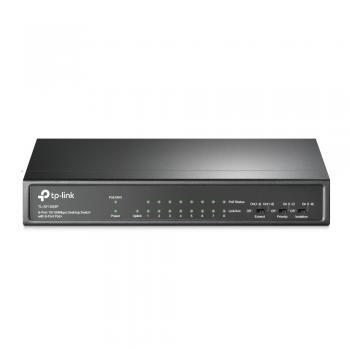 TP-LİNK TL-SF1009P 9-Port 10/100Mbps Desktop Switch with 8-Port PoE+