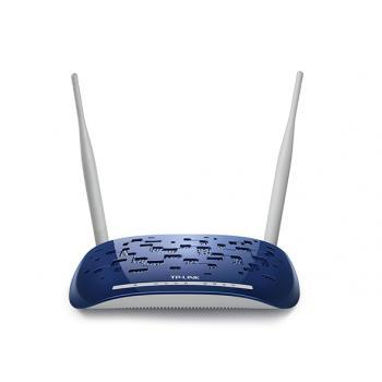 TP-Link TD-W8960N 300Mbps ADSL2 + Modem/Router, EWAN, VPN, 2x5DBi Anten WPS