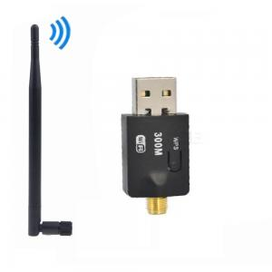 11124 USB ANTENLİ WPS TUŞLU WİRELESS ADAPTÖR